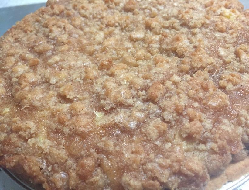 Kortni's Kitchen: Apple Custard Pie