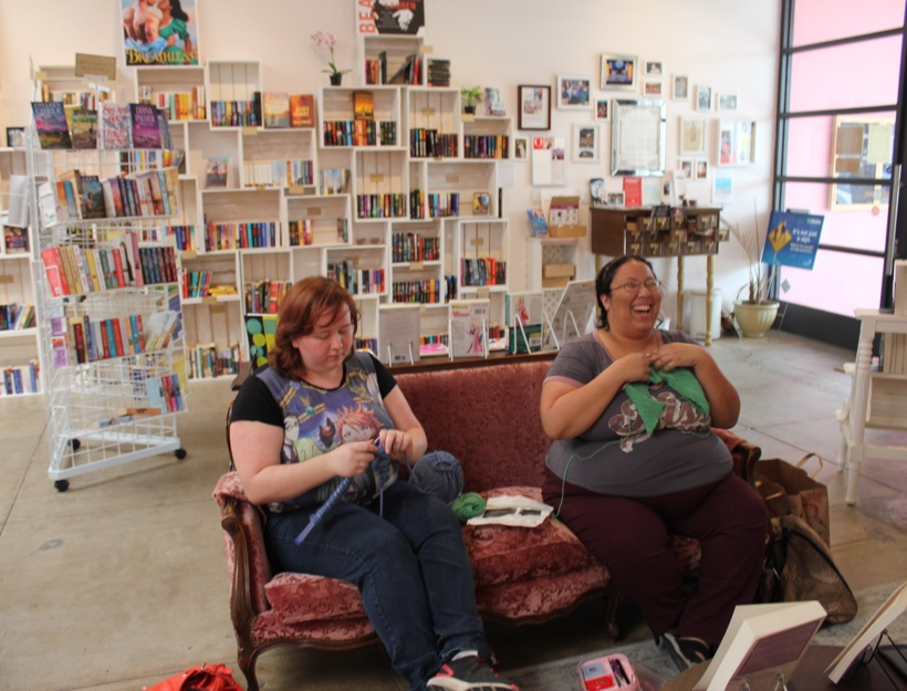 WhedonKnit Night at The Ripped Bodice