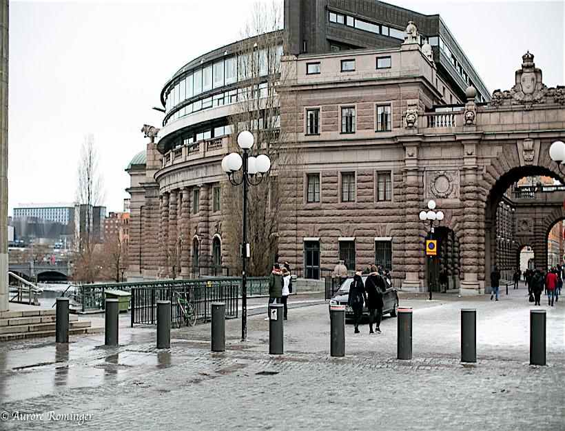 Celebrating International Women's Day Strolling on a Sunday in Stockholm, Sweden