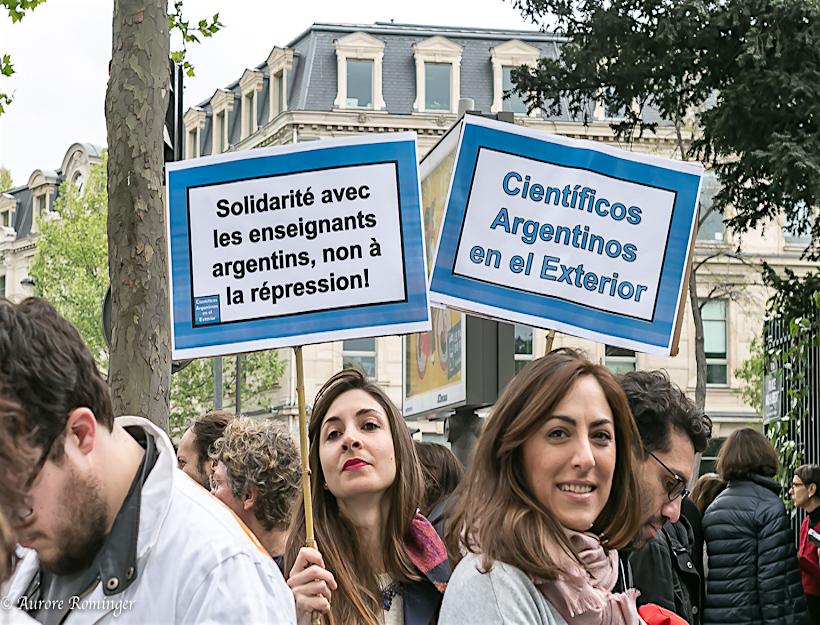 Argentin visitors