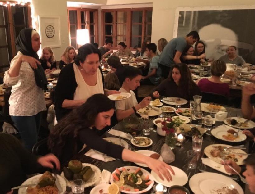 Syrian Refugee Family Support Dinner