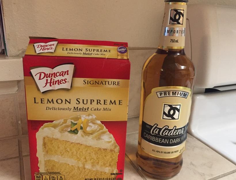 Lemon Rum Cake
