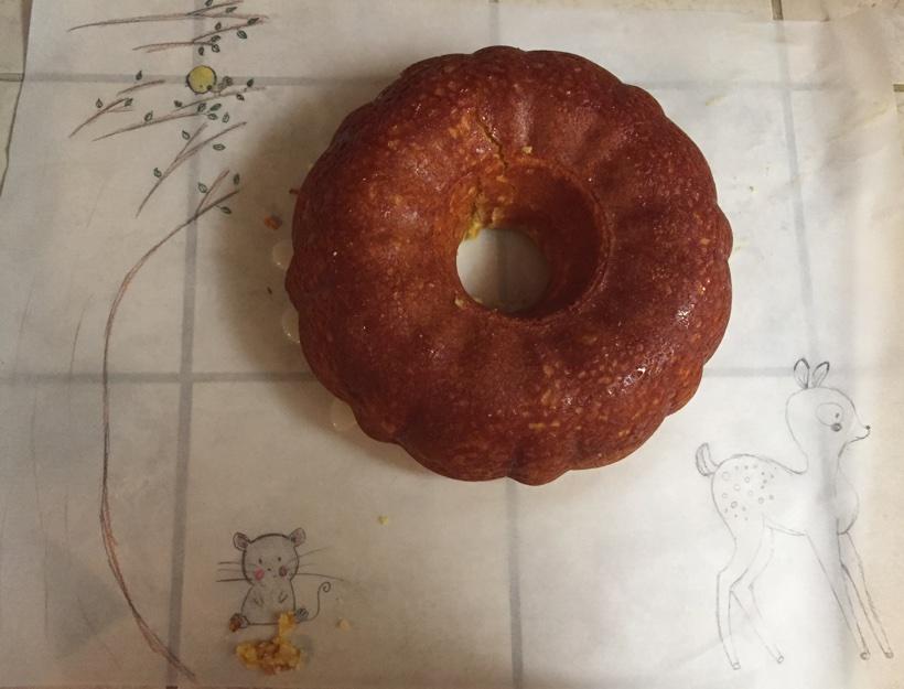 Kortni's Kitchen: Lemon Rum Cake Just in Time for Easter!