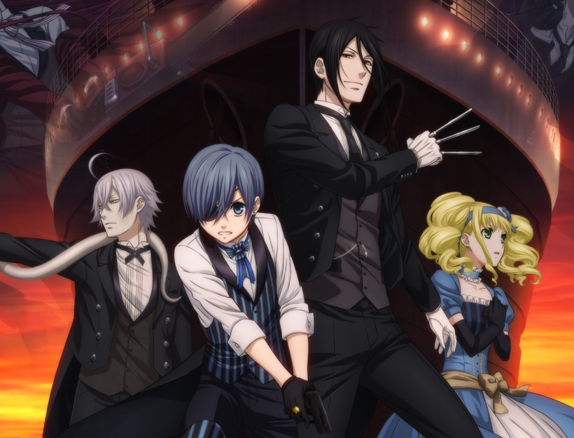 Black Butler: Book of the Atlantic Review