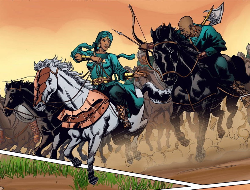 Malika: Warrior Queen (Part One)
