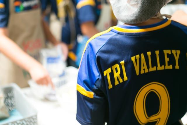 Tri Vally Under twelve girls team