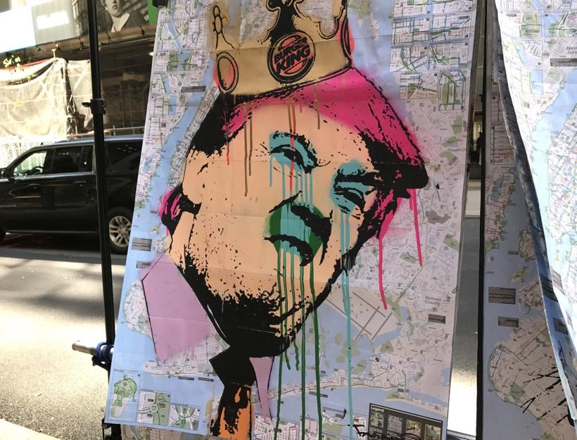 Street Art, New York City, June 2017