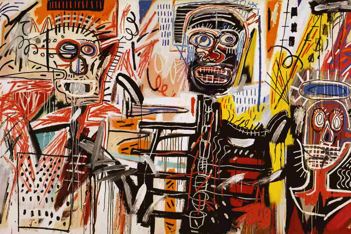 Jean Michel Basquiat, Philistines.-1982