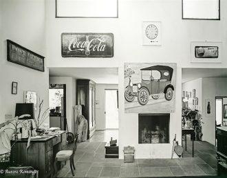Display, Walker Evans' home