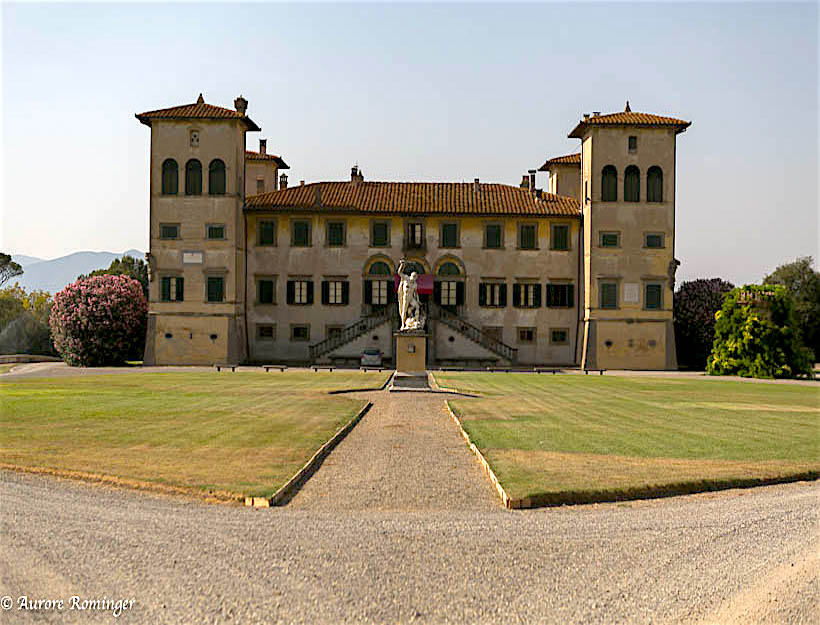Stroll Through History: Estate of the Marquis of Camugliano, Pisa Province, Italy