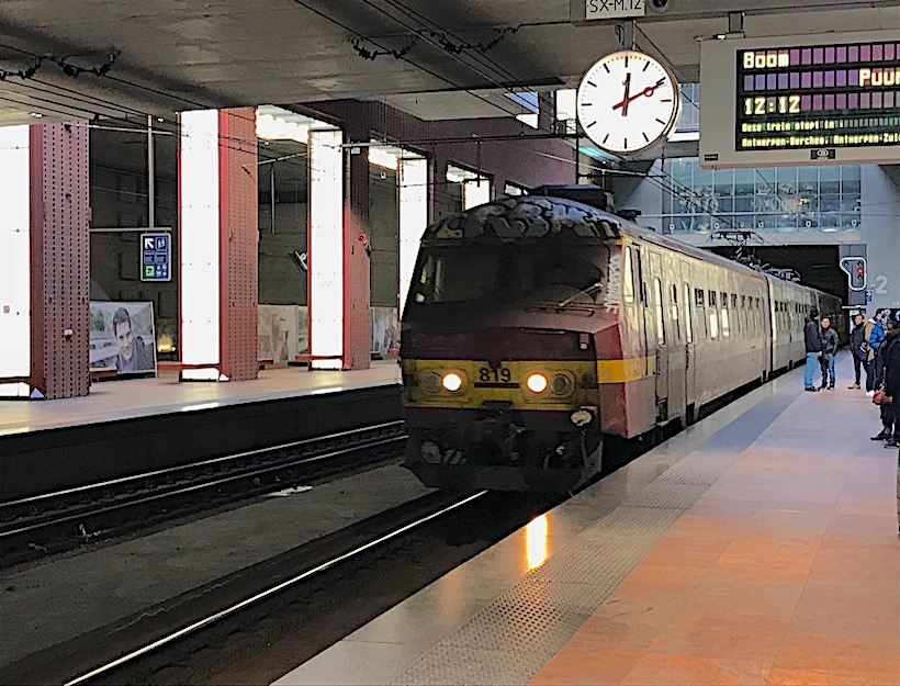 Train at the quai