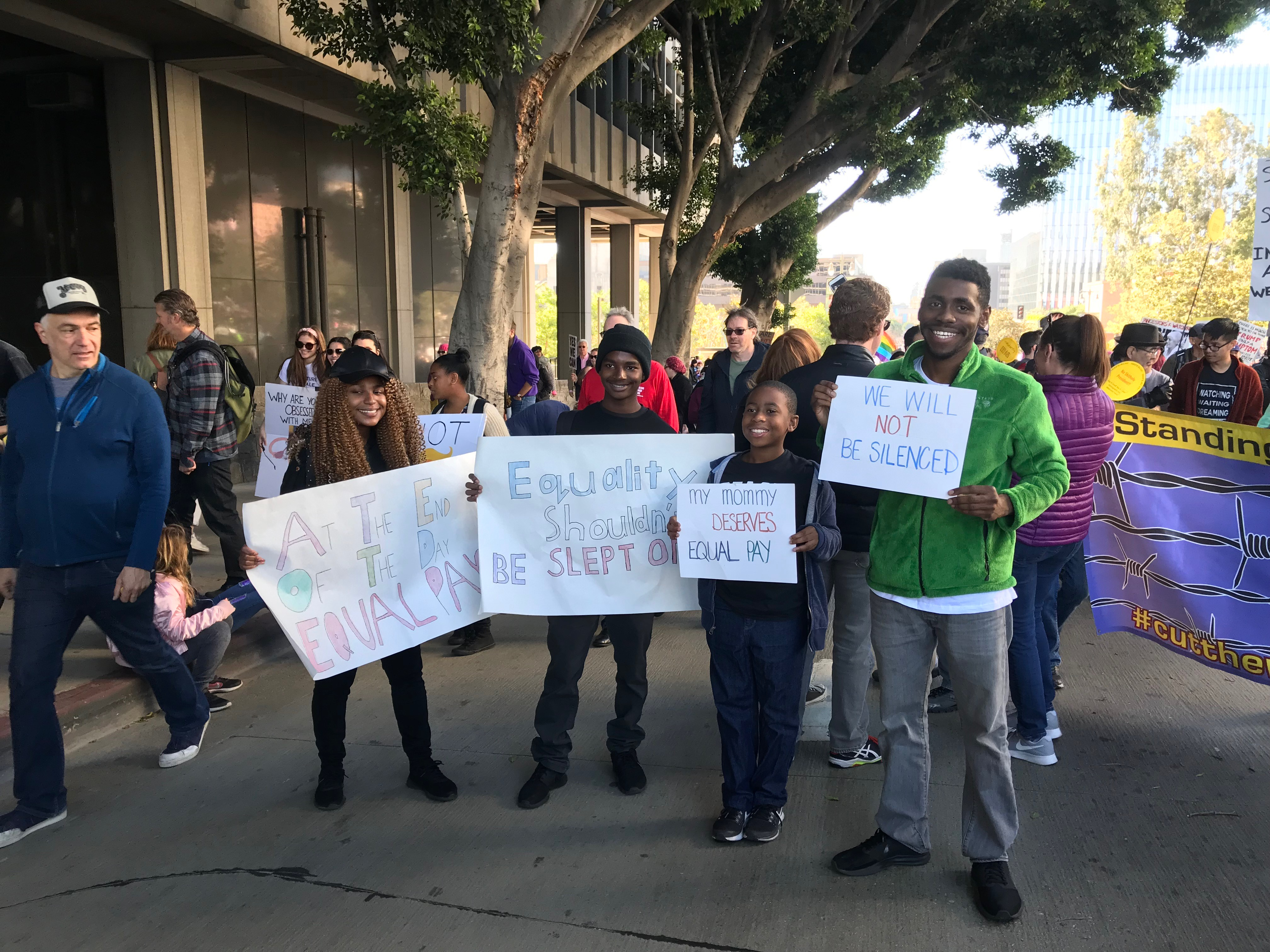 Women's March Los Angeles, 1.20.18