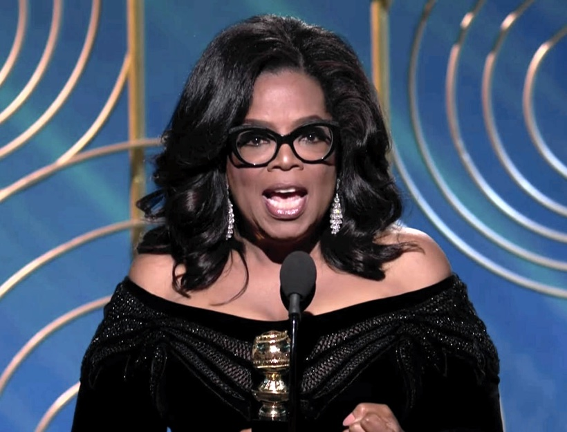 Oprah Winfrey's Acceptance Speech at the 2018 Golden Globes – Stand Up!