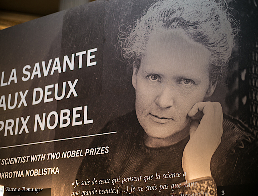 """From Warsaw to Paris"", celebrating Marie Curie"