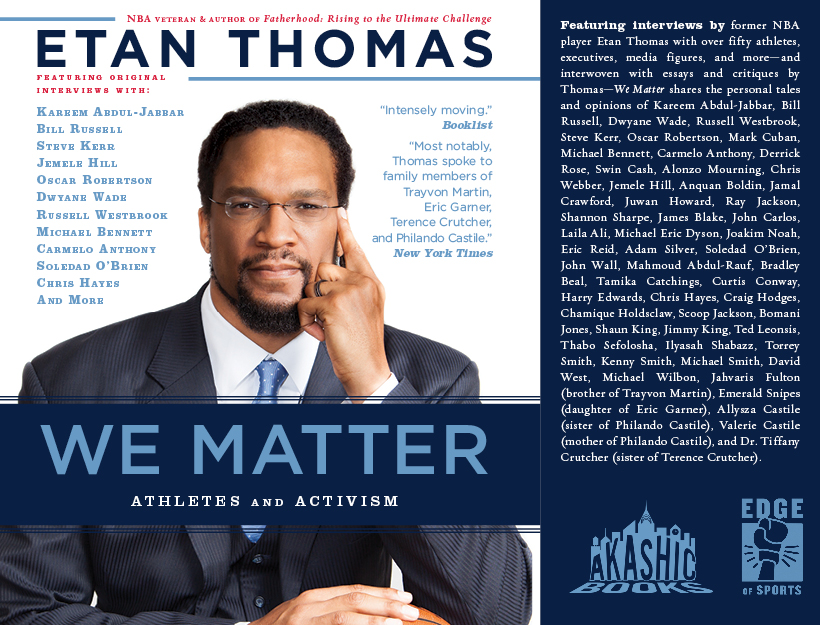 Offsides & Out of Bounds, Thoughts on Athletes and Activism: We Matter by Etan Thomas
