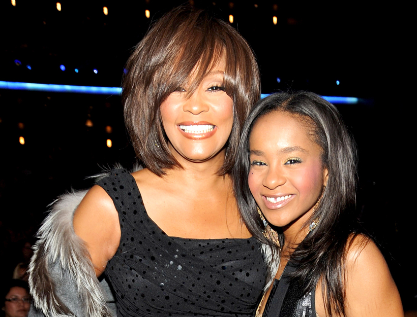 Whitney and Daughter Bobbi