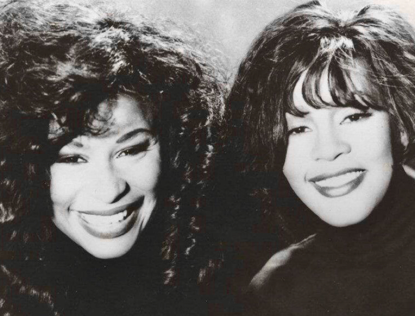 Chaka Khan and Whitney Houston