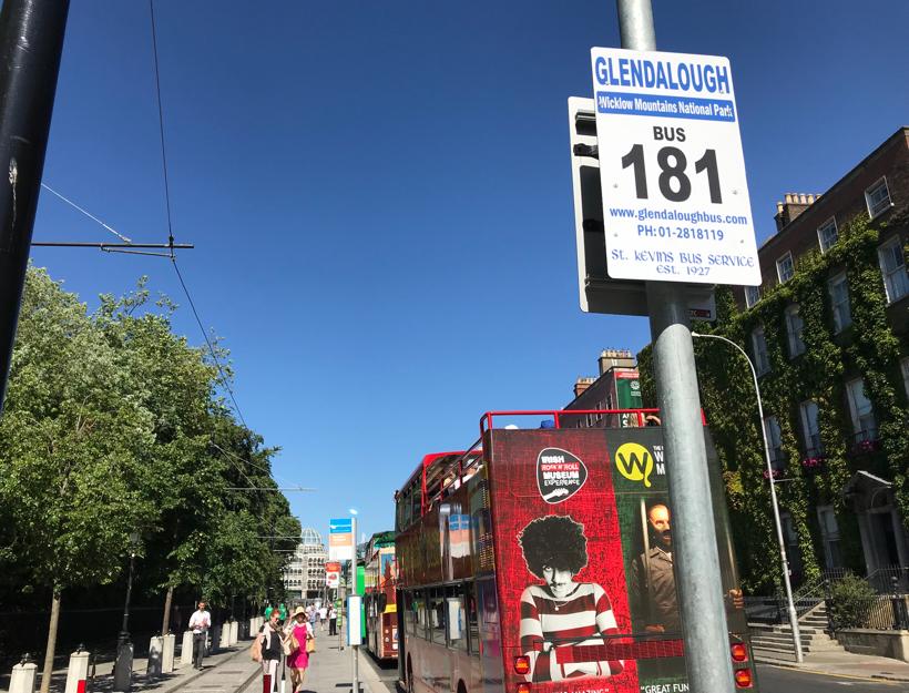 St. Kevin's Bus Stop - Let's go to Glendalough