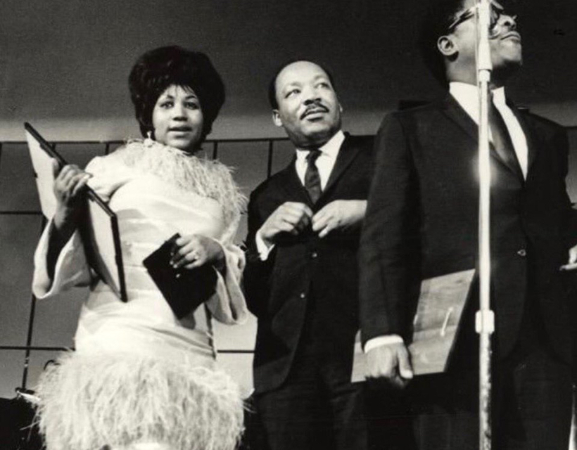 Aretha Franklin & Dr. Martin Luther King