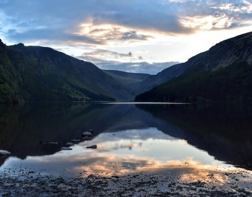 Experiencing Ireland's Sacred Places:  Glendalough, Walking the Valley of Two Lakes