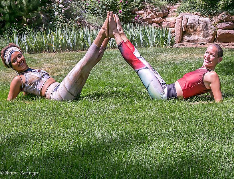 Eco-conscious leisure / active wear
