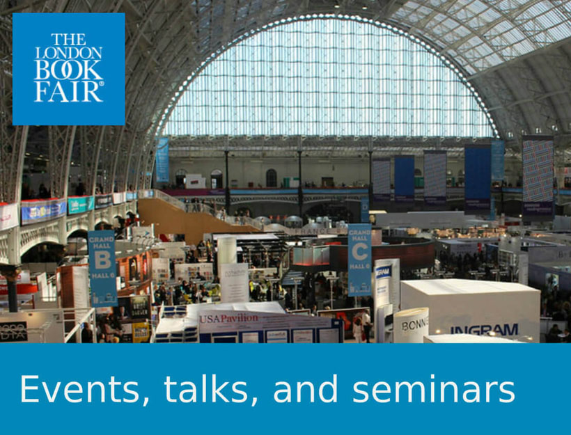 London Book Fair 2019 | Two Talks:  Artificial Intelligence Replacing Editors?!  Money & the Author!