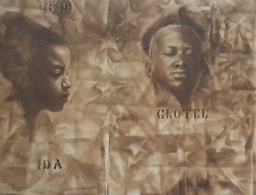 Charles White; Wanted Poster No.5 (1969)