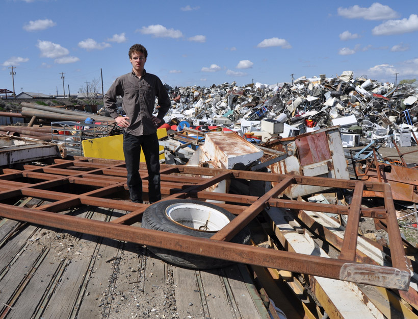 Introducing Sculptor Joseph Rastovich: Scrap Yard