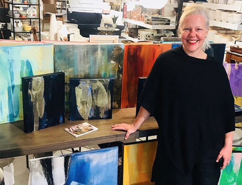 Artist Kari Kroll