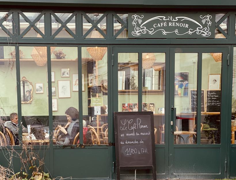 Le Café Renoir, Musée de Montmartre