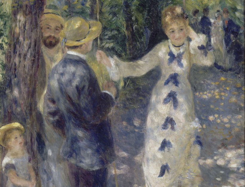 La Balançoire, The Swing, by Renoir