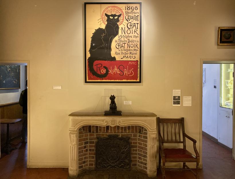 Le Chat Noir poster, Musee de Montmartre