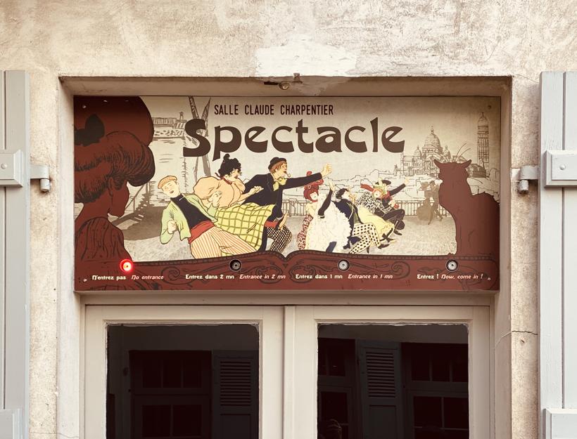 Spectacle, Musée de Montmartre