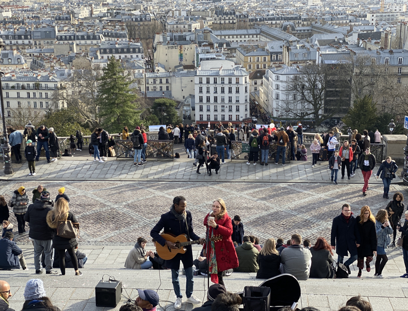 Montmartre Street Performers