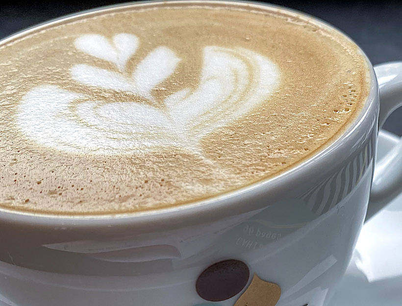 Satisfying and Beautiful Cappuccino