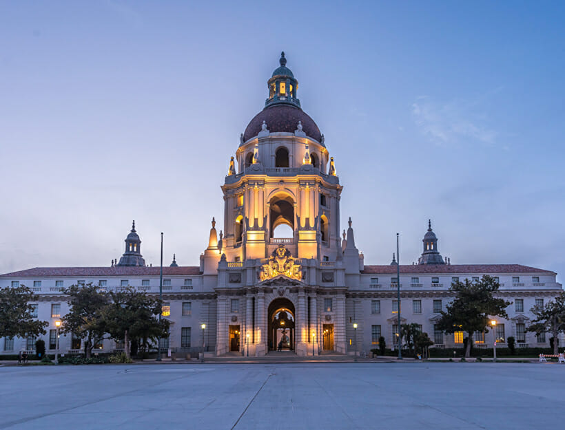 2020, A Tale of Two Cities: Pasadena, California