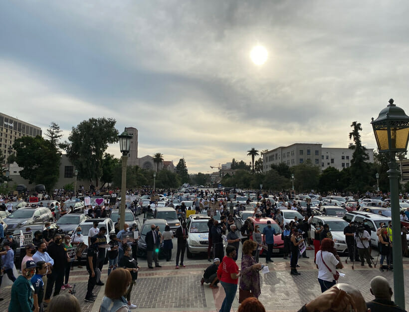 George Floyd Protest, 6.2.20, Pasadena, CA