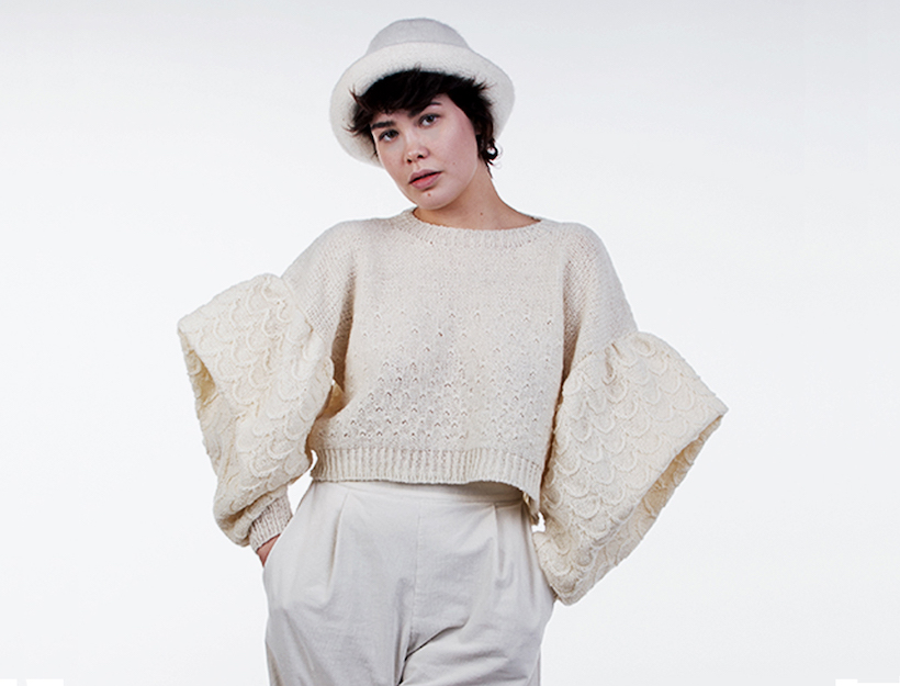 International fashion designs in Pure soft Danish wool