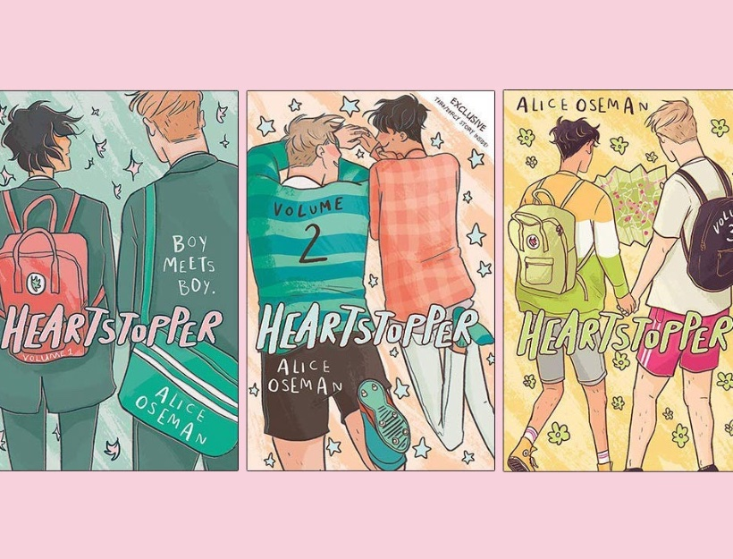 Graphic Novel Review – Heartstopper – A LGBTQ Coming-of-Age Story