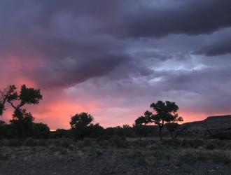 Summer in Santa Fe, Rainbow Memories and Thunder Beings